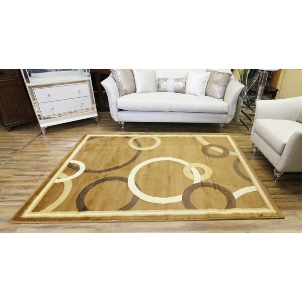 Passion Beige/Cream Area Rug by Beyan Signature