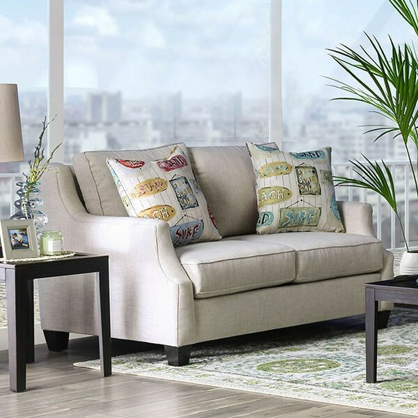 Clements Loveseat by Rosecliff Heights