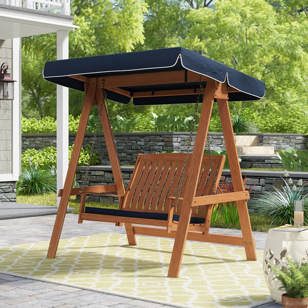 Peggy Porch Swing With Stand By Darby Home Co