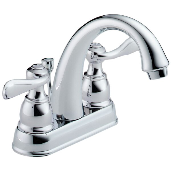 Windemere Centerset Bathroom Faucet with Drain Assembly and Diamond Seal Technology by Delta