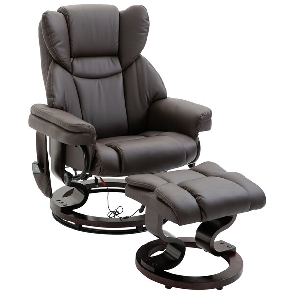 Corning 22 Manual Swivel Recliner with Ottoman W002832016