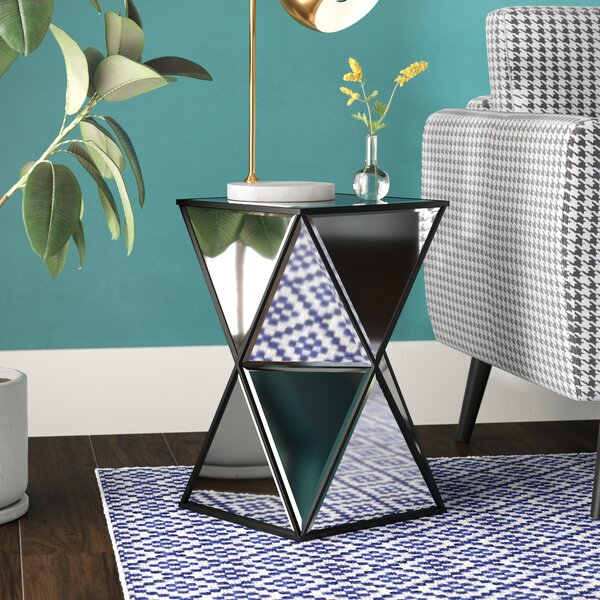 Peregrine End Table by Mercury Row