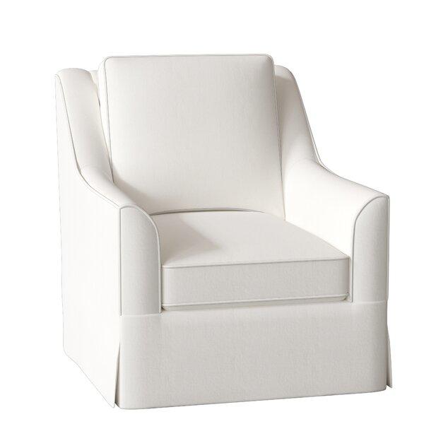 Bella Swivel Glider Armchair by Wayfair Custom Upholstery Wayfair Custom Upholstery™