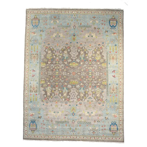 Bowyer Wool Gray Area Rug