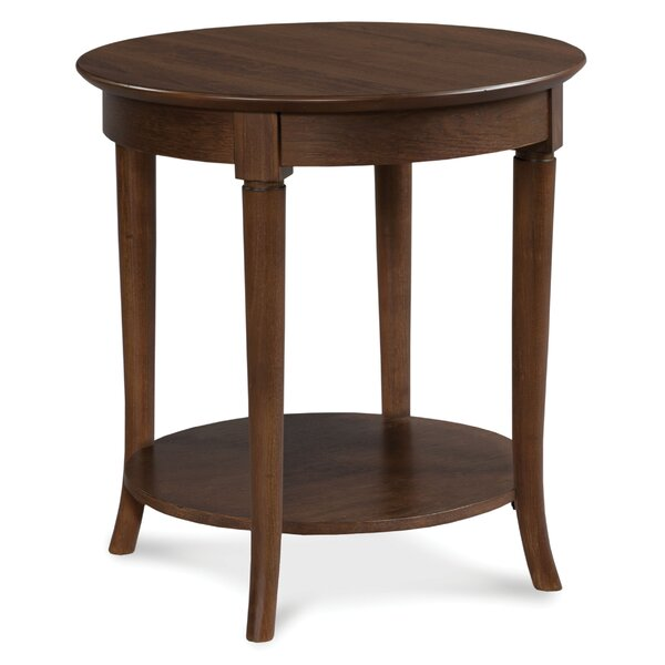 Campaigna Round End Table by Fairfield Chair
