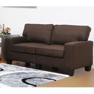 Jordan Linen Modern Living Room Loveseat by Living In Style