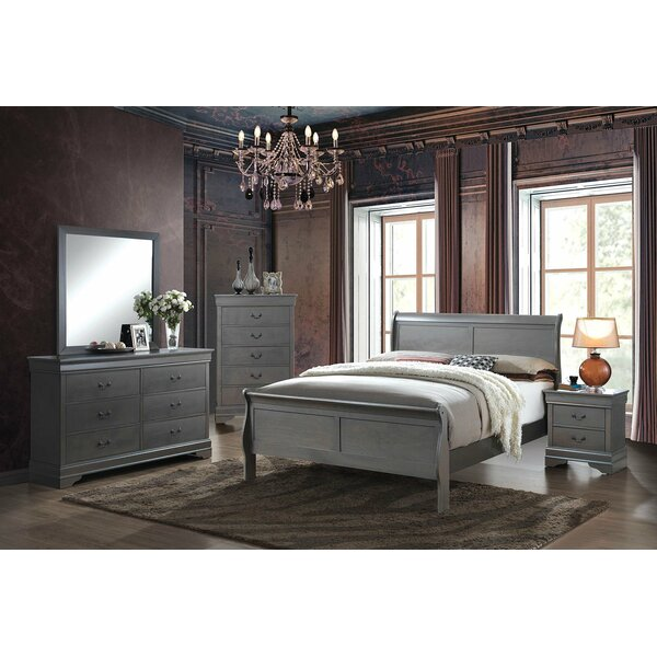 Glyndon Sleigh Configurable Bedroom Set By Darby Home Co by Darby Home Co Savings