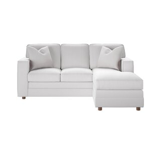 Andrew Reversible Sectional  sc 1 st  Wayfair : white sofa sectional - Sectionals, Sofas & Couches