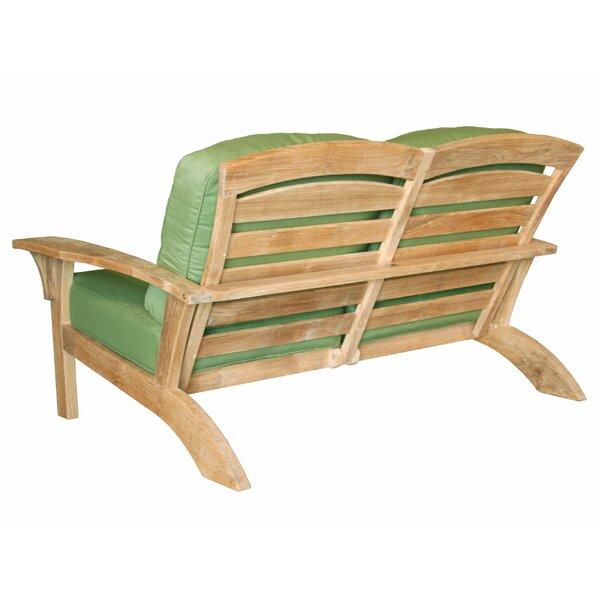 Frausto Deep Seating Loveseat by Millwood Pines