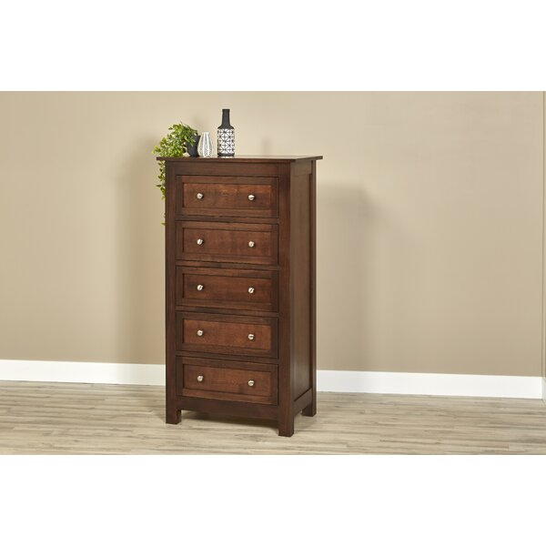 Bulluck 5 Drawer Chest by Darby Home Co