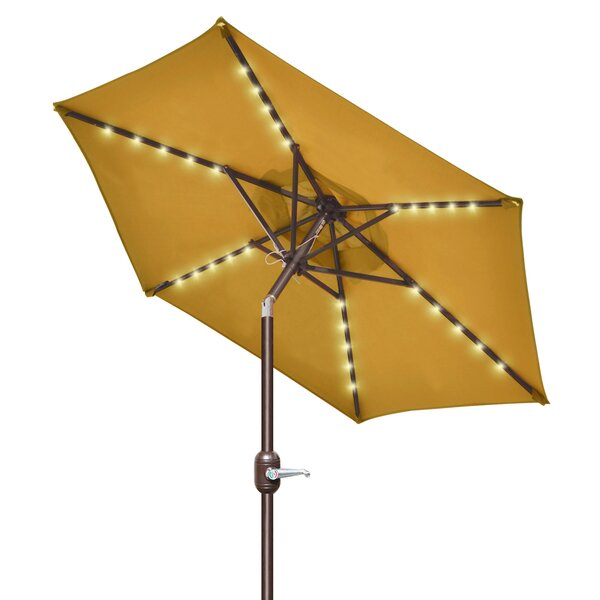 Talamantez 6.5' Beach Umbrella By Highland Dunes