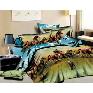 Horse 4 Piece Sheet Set