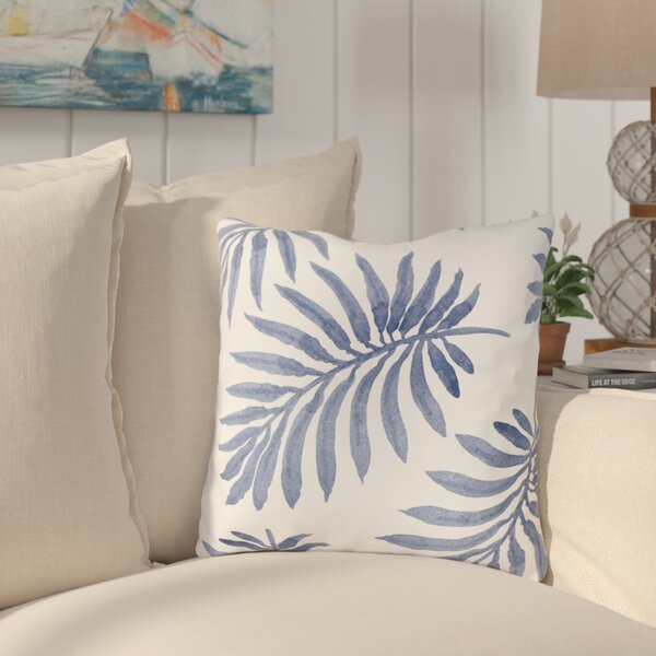 Morganton Palm Throw Pillow by Bay Isle Home