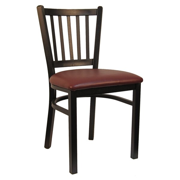 Vertical Upholstered Dining Chair (Set Of 2) By H&D Restaurant Supply, Inc.