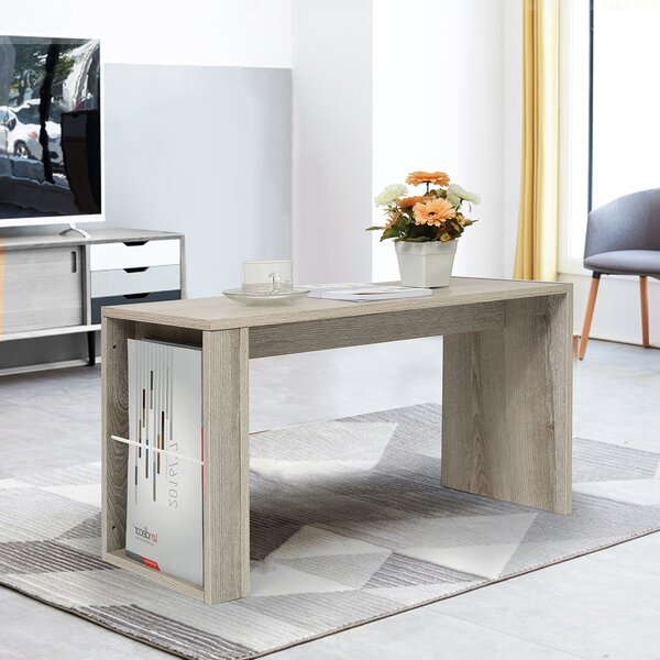 Hala Pedestal Coffee Table By Ebern Designs