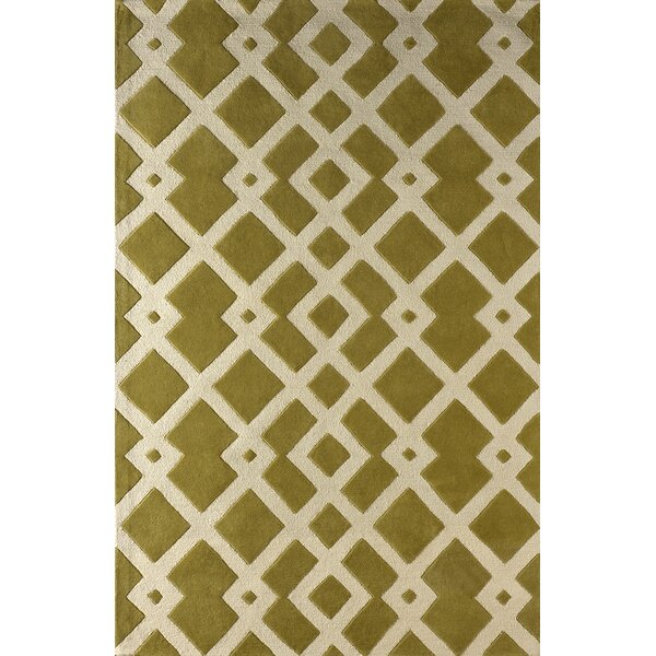Glenside Hand-Tufted Pear Area Rug by Mercer41