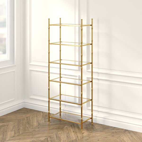 Britney 6 Tier Etagere Bookcase by Everly Quinn