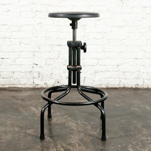 Adjustable Height Bar Stool by Nuevo