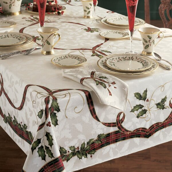 Holiday Nouveau Tablecloth by Lenox