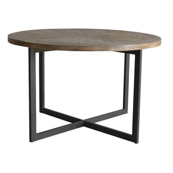 LeLand Solid Wood Dining Table by Union Rustic