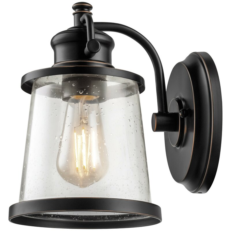 Charlie 1 Light Outdoor Wall Sconce