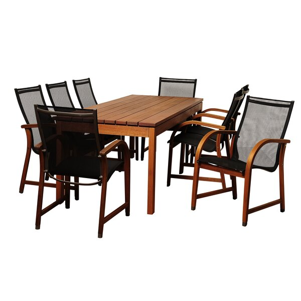 Brighton Traditional 9 Piece Dining Set By Sol 72 Outdoor