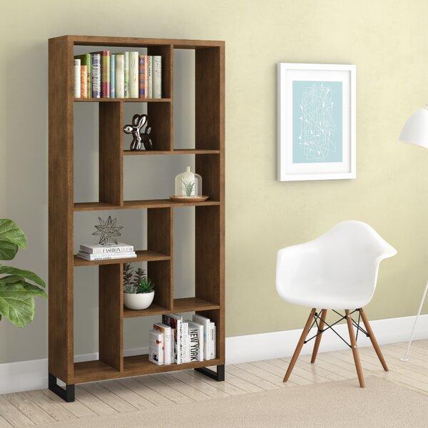 Croyle Geometric Bookcase By Brayden Studio