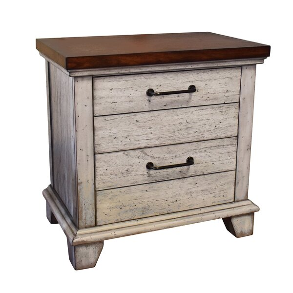 Onecre 2 Drawer Nightstand by August Grove