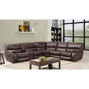Irizarry Reclining Sectional Red Barrel Studio