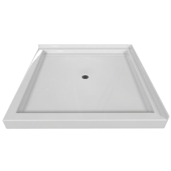 Signature 48 W x 48 D Double Threshold Shower Base