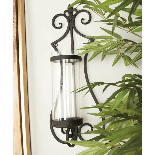Iron Sconce by Cole & Grey