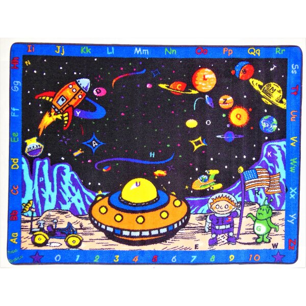 Hartley Space Station Area Rug by Zoomie Kids