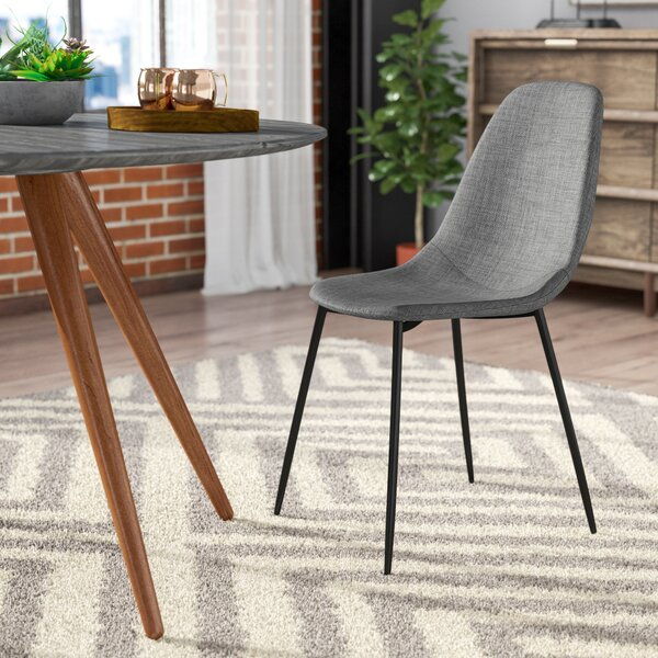 Coretta Upholstered Dining Chair (Set of 2) by Modern Rustic Interiors