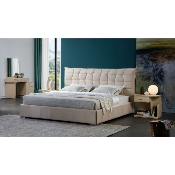 Earline Fabric Upholstered Platform Bed by Everly Quinn