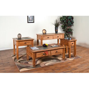 Fresno 3 Piece Coffee Table Set by Loon Peak