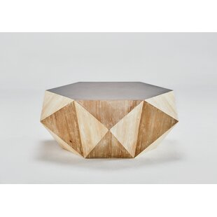 Compare prices Raymundo Hexagon Coffee Table By George Oliver