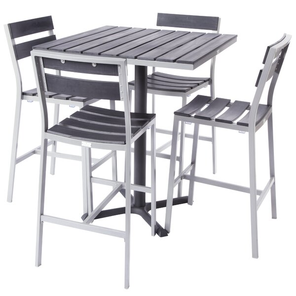 Milloy 5 Piece Bar Height Dining Set by Madbury Road