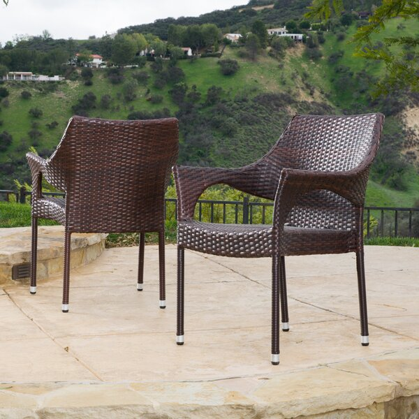 Danna Patio Chair (Set of 2) by Mercury Row