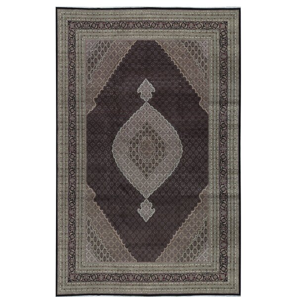 One-of-a-Kind India Hand-Knotted Brown/Green 12' x 18'9 Area Rug