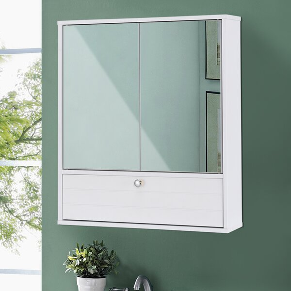 Embree Storage 5.5 W x 21.5 H Wall Mounted Cabinet by Orren Ellis