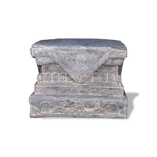 ResinStone Foo Dog Base Pedestal by Amedeo Design