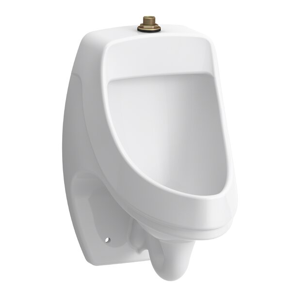 Dexter Washout Wall-Mount 0.125 GPF Urinal with Top Spud by Kohler