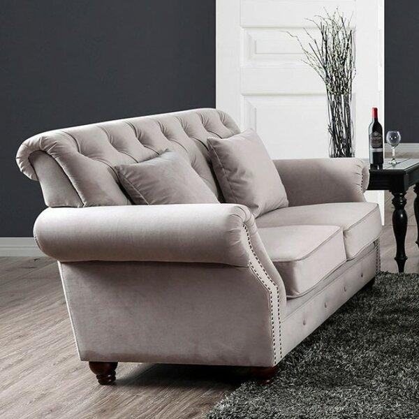 Parham Modern Victorian Loveseat by Canora Grey