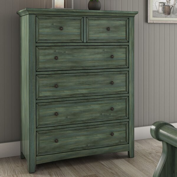 Sefton 5 Drawer Chest by Three Posts