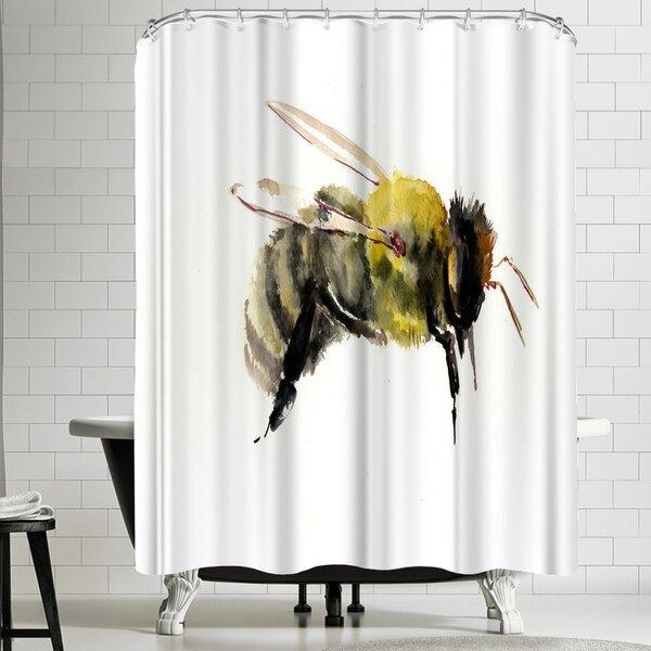 Suren Nersisyan Bumblebee 1 Shower Curtain by East Urban Home
