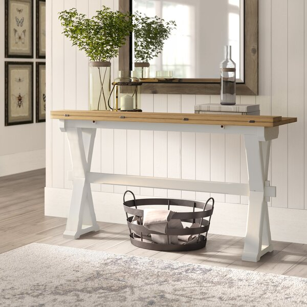 Guillelmina 57-inch Solid Wood Console Table by Birch Lane Heritage Birch Lane™ Heritage