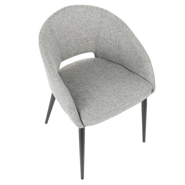 Evanoff Upholstered Dining Chair by Wrought Studio