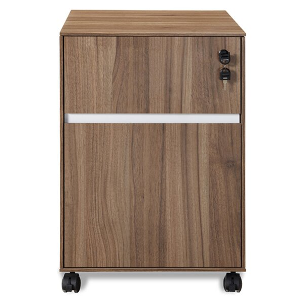 Manhattan Collection Mobile File Cabinet by Haaken Furniture
