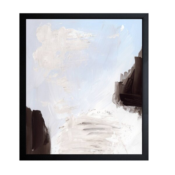 Windy Framed Painting Print by Wade Logan