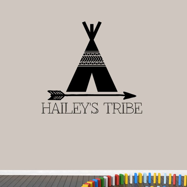 Custom Tribe Name Wall Decal by Zoomie Kids